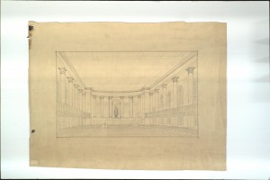 Cathedral Inside Sketch